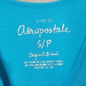 Aeropostale Tops - Aeropostale Blue Sequin Tank Top